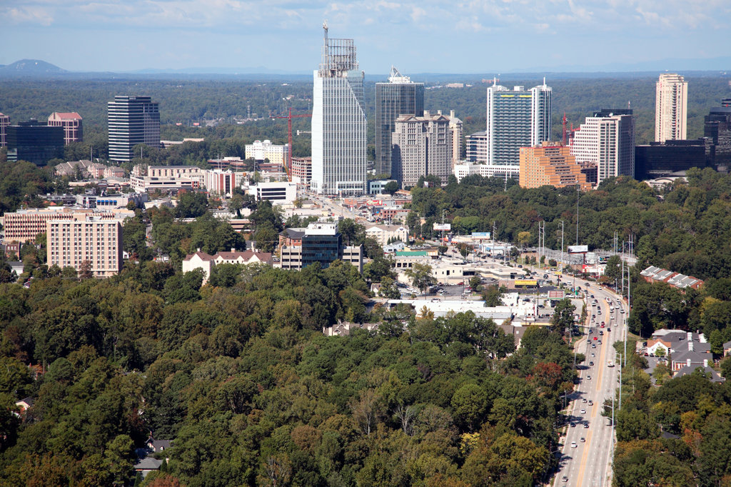 Buckhead Atlanta, Georgia : Stock Photo