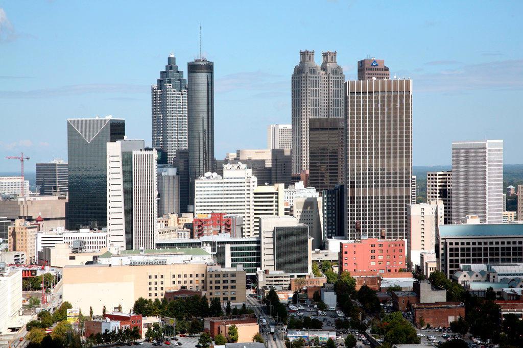 Stock Photo: 4017-1295 Downtown Atlanta