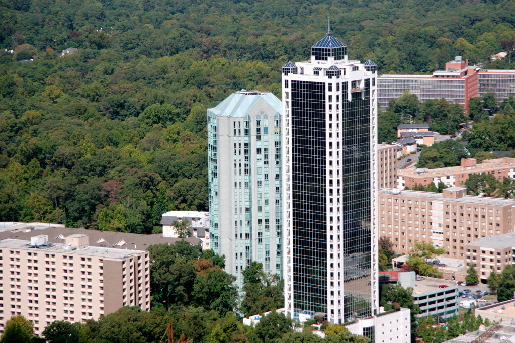 Buckhead area of Atlanta : Stock Photo