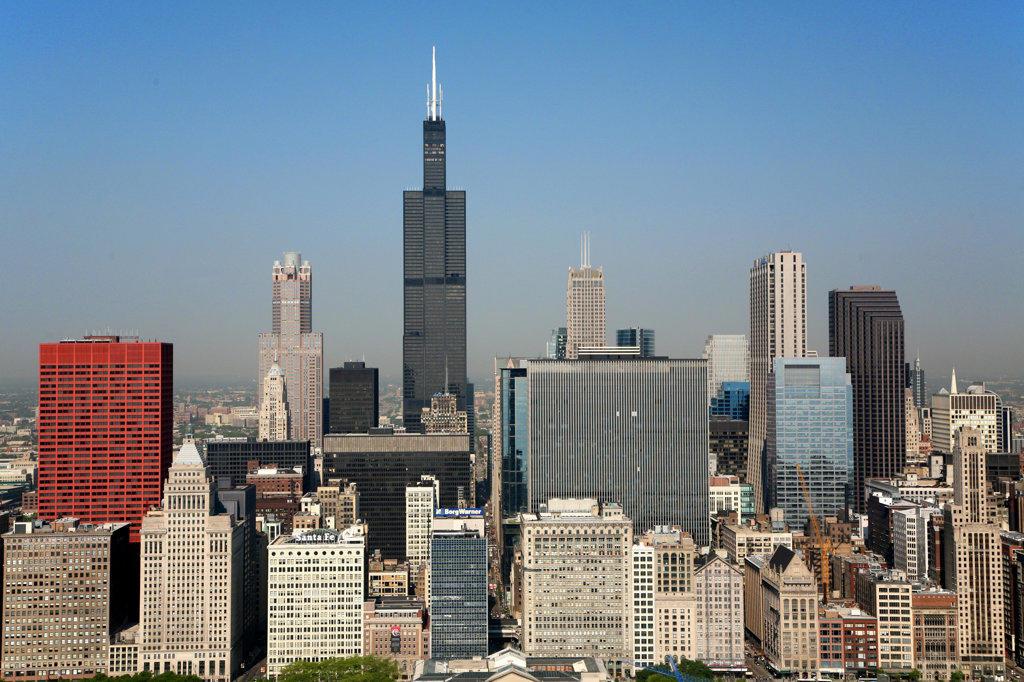 Stock Photo: 4017-1451 Chicago, Illinois