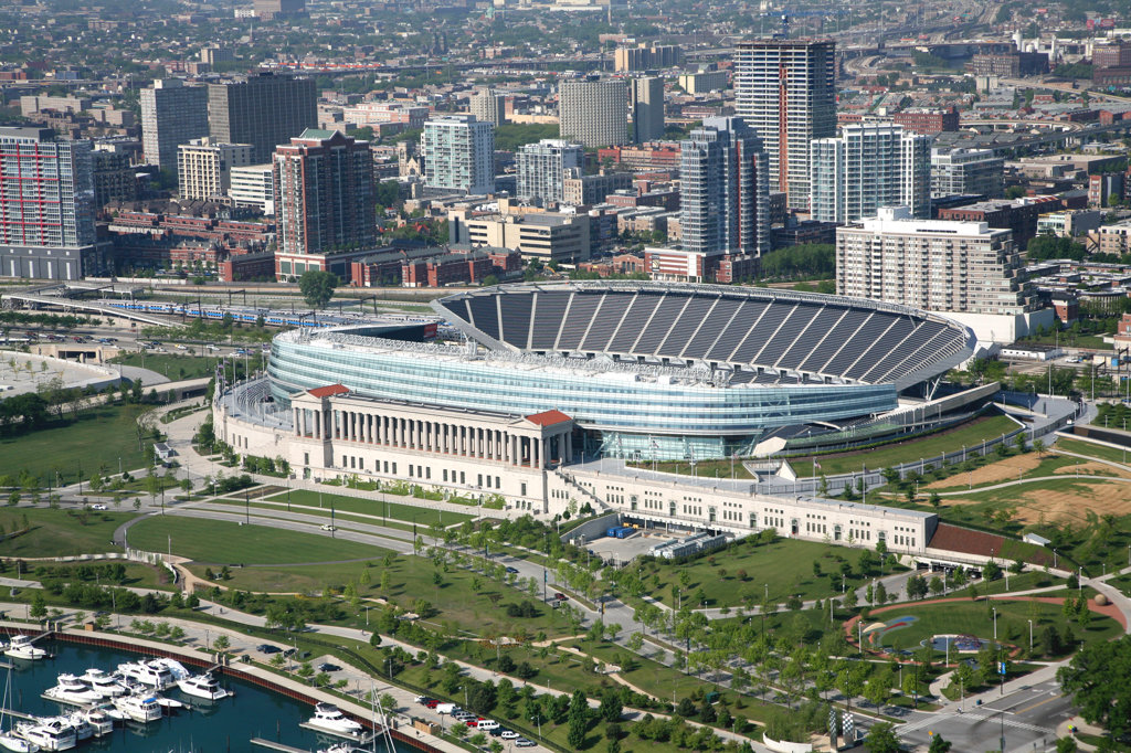 Soldier Field, Chicago : Stock Photo
