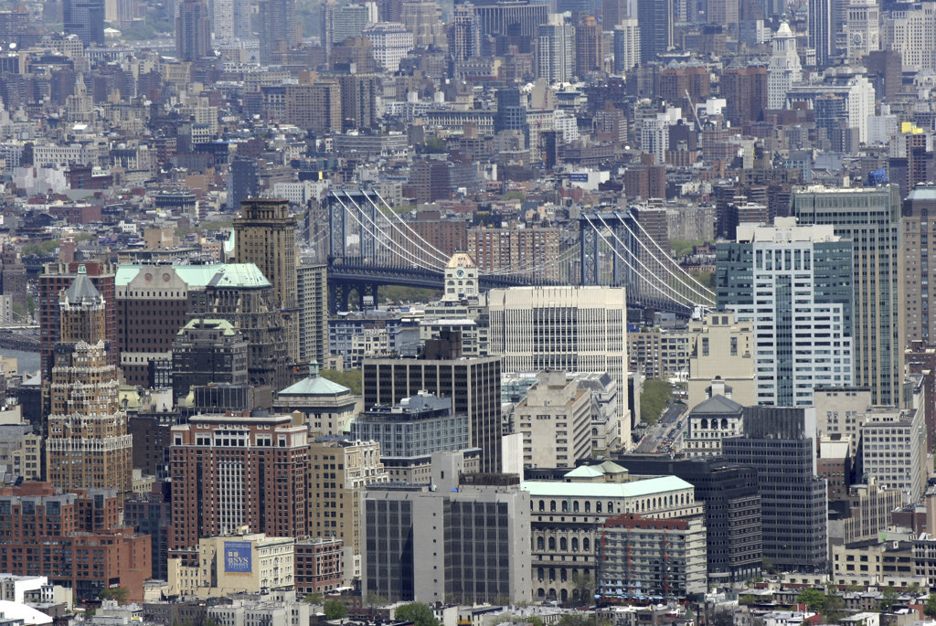 USA,   New York State,   New York City,   Brooklyn,   elevated view : Stock Photo