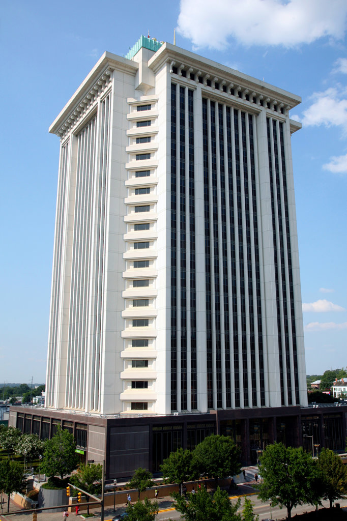 Stock Photo: 4017-2757 Tower in a city, RSA Tower, Montgomery, Alabama, USA