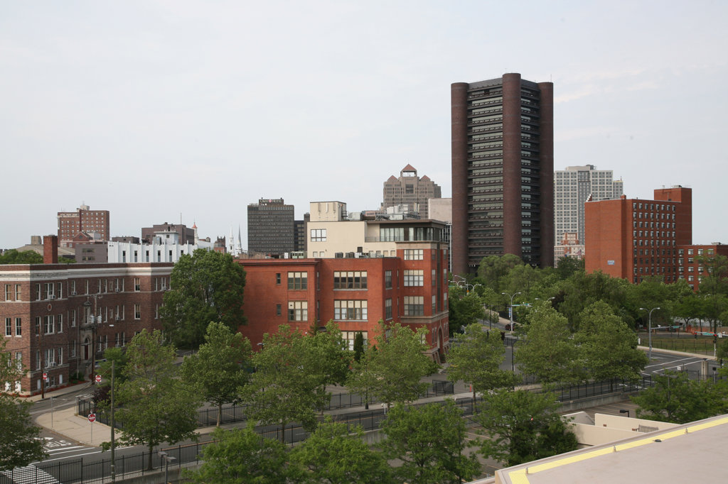 Buildings in a city, New Haven, Connecticut, USA : Stock Photo