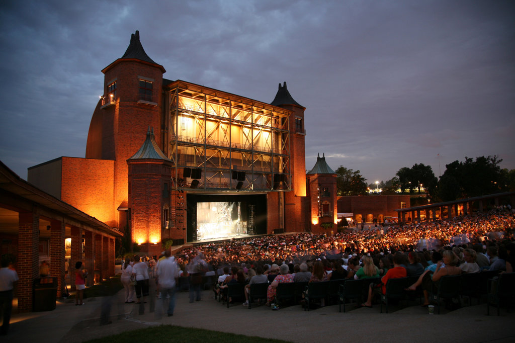 Starlight Theatre in Swope Park, Kansas City, Missouri, USA : Stock Photo