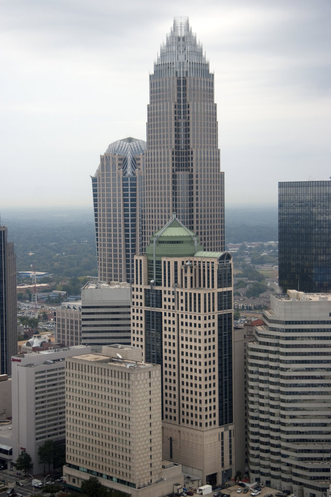 Stock Photo: 4017-529 Bank of America Corporate Center, Charlotte, NC