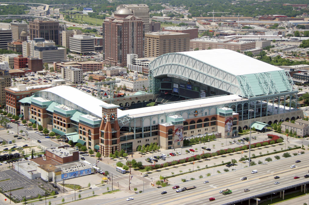 Stock Photo: 4017-731 Minute Maid Park, Houston, TX
