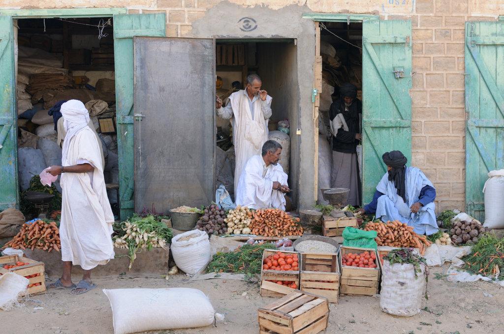Mauritania, Atar, market scene : Stock Photo