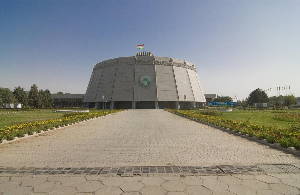 Stock Photo: 4021-2291 Tajikistan, Dushanbe, circus