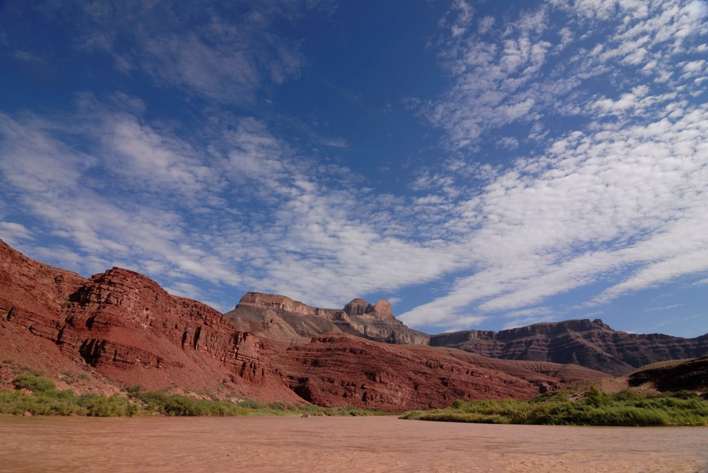 Stock Photo: 4021-3937 Grand canyon and the Colorado River, Arizona, USA