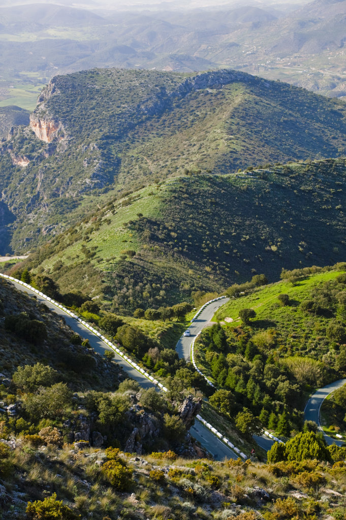Spain, Andalusia, Countryside near Grazalema, : Stock Photo