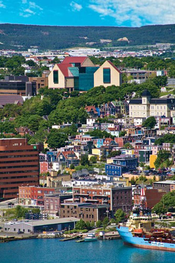 St. John´s, Newfoundland, Canada, the traditional 'Jelly Bean'  : Stock Photo