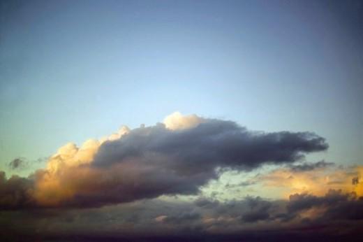 Stock Photo: 4029R-10190 Sky, Cloud, Clouds, Cloudy, Cloudy Sky, Cloudscape, Scenics