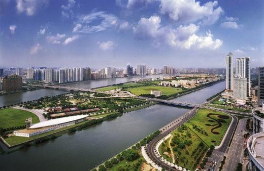 Guangzhou Er-sha Island : Stock Photo