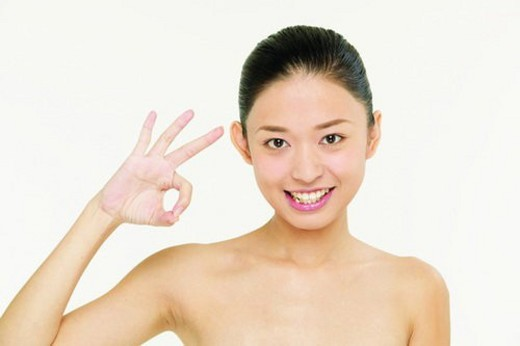 Asian Ethnicity, Close-Up, Black Hair, Agreement : Stock Photo