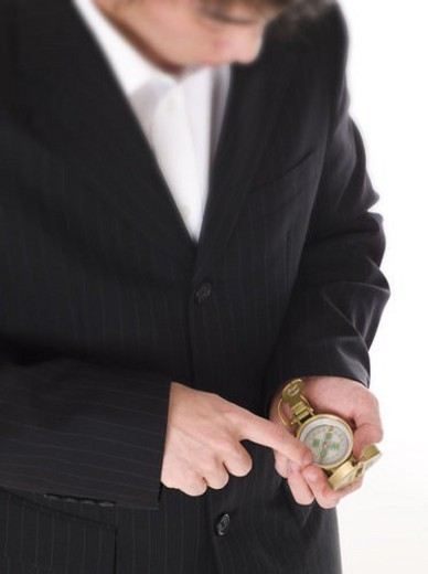 hand, businessman, body part, compass, business suit, business : Stock Photo