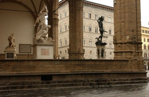 Statues of Florence, Italy : Stock Photo