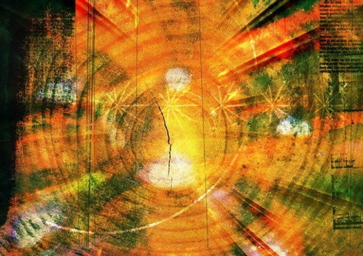 artistic, circular, blurry, blur, art form : Stock Photo