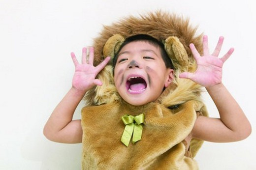 Indoor, Clipping Path, Costume, Imagination, Cute, One Boy Only : Stock Photo