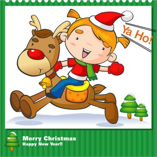 Stock Photo: 4029R-129654 seasons, santa claus, santa, merry christmas, winter