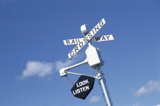 Stock Photo: 4029R-135890 A Sign And The Sky