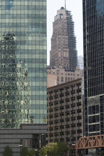 Chicago Buildings : Stock Photo