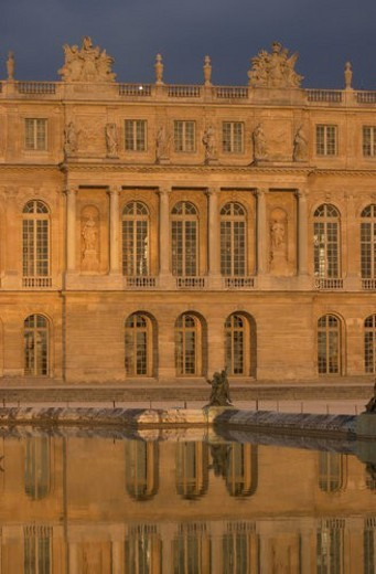 Stock Photo: 4029R-143711 Chateau de Versailles, France