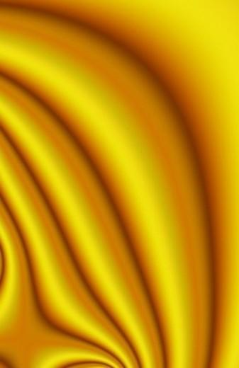 Yellow Swirl : Stock Photo