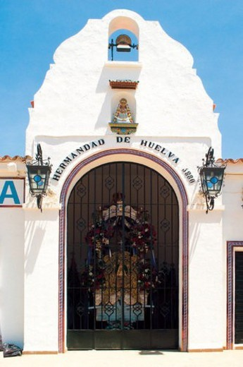 Stock Photo: 4029R-148436 Spain, Andalucia, Andalusia, Huelva, Aldea del rocio, El rocio, Rocio