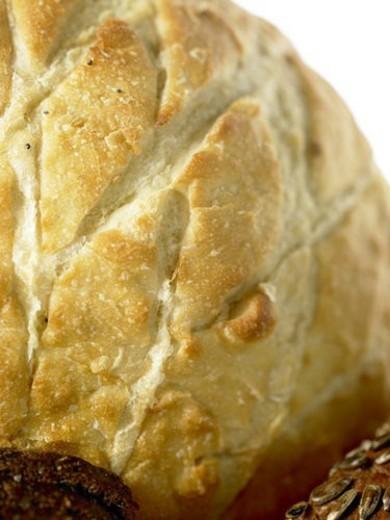 Stock Photo: 4029R-149060 White crusty Bread
