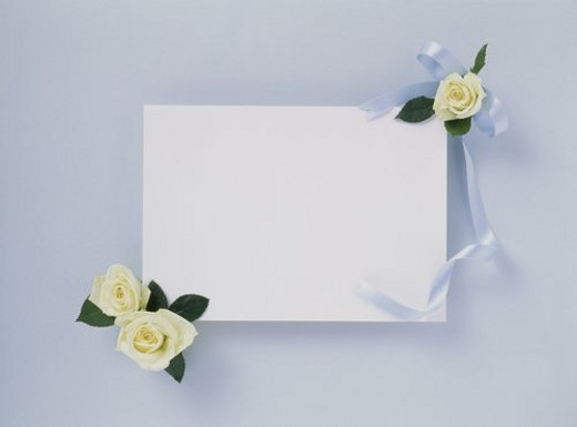 Stock Photo: 4029R-152426 Flower Card
