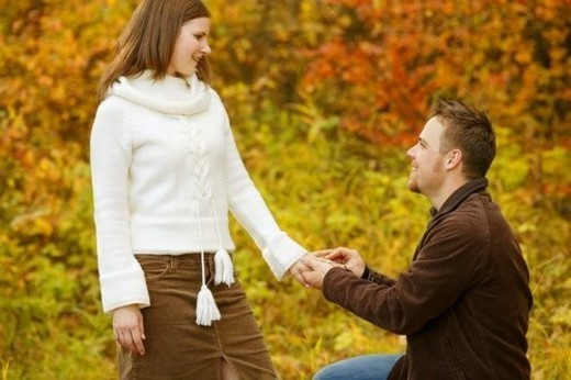 Stock Photo: 4029R-153910 A proposal