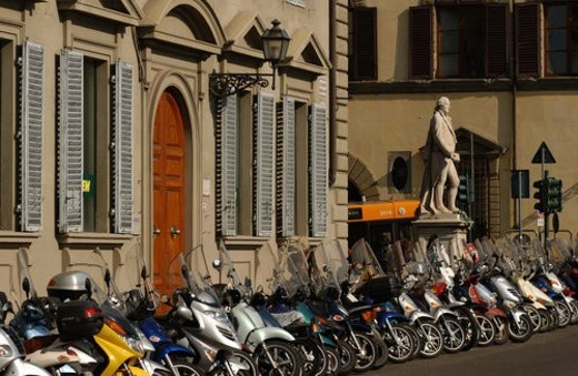 Street of  Florence Italy : Stock Photo