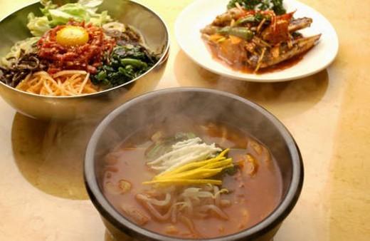 Korean foods : Stock Photo