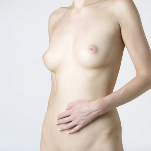 A female nude, mid section : Stock Photo