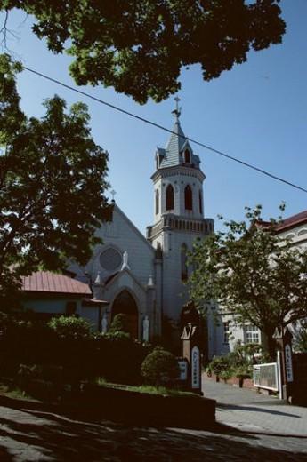 Stock Photo: 4029R-167225 Motomachi Roman Catholic Church, Hakodate ,Hokkaido, Japan