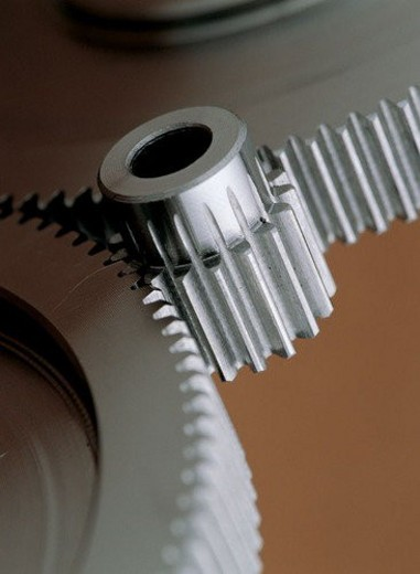 Stock Photo: 4029R-168243 Equipment, Indoor, Metallic, Industry, Teeth, Round