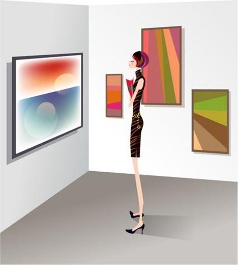 art museum, culture, fine art, fine arts, art gallery, art : Stock Photo