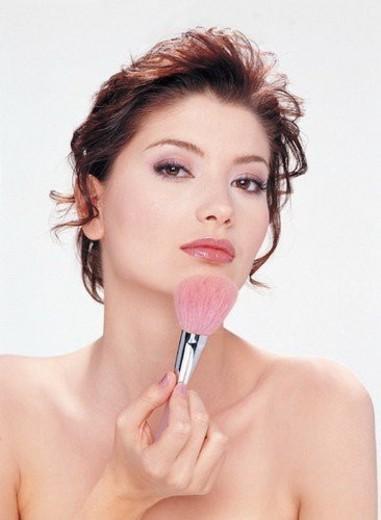 Stock Photo: 4029R-171448 Beauty Care, Blush, Beauty Treatment, Beauty Spa, Applying