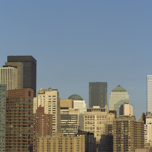 Stock Photo: 4029R-182123 New York City Skyline