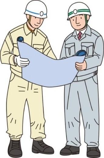 Stock Photo: 4029R-182897 Construction Laborer, Illustrative Technique