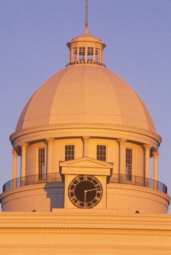Stock Photo: 4029R-19059 State Capitol of Alabama, Montgomery