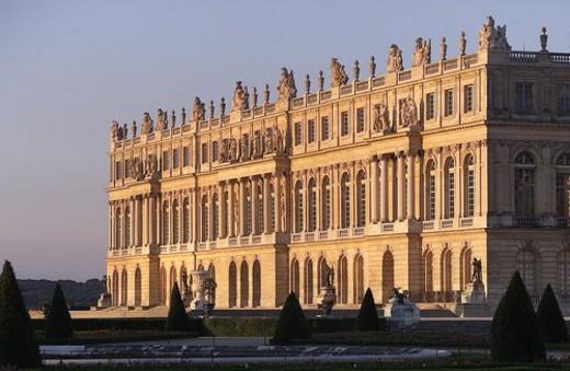 Stock Photo: 4029R-199357 Chateau de Versailles, France