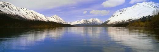 Kenai Lake, Kenai Peninsula : Stock Photo
