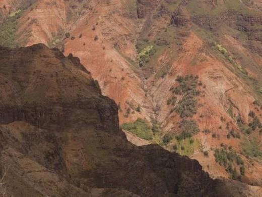 Stock Photo: 4029R-213760 Waimea Canyon State Park, Kauai, Hawaii, USA