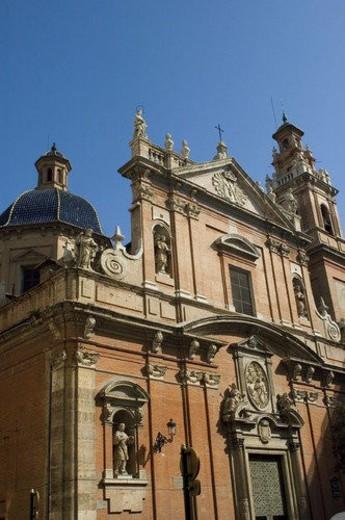 Stock Photo: 4029R-217848 Spain, Comunidad valenciana, Valencia, City, Town, Building, Architecture