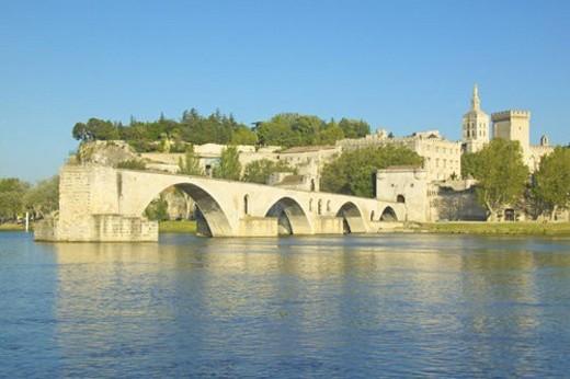 Stock Photo: 4029R-221807 Le Pont St. Benezet