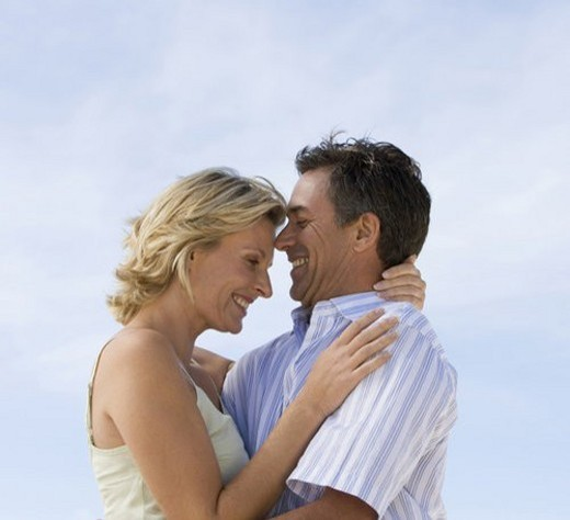 Portrait of a mature couple : Stock Photo
