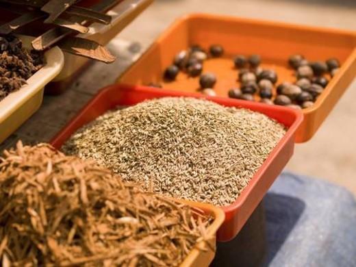 Indian food, Kerala, India : Stock Photo