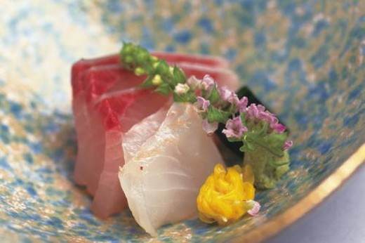 Stock Photo: 4029R-235937 Sashimi